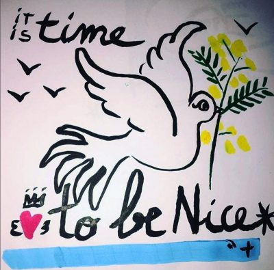 It's time to be nice